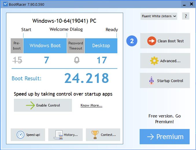 "Kingston KC600 2.5"" SATA SSD: Timp de pornire Windows 10"