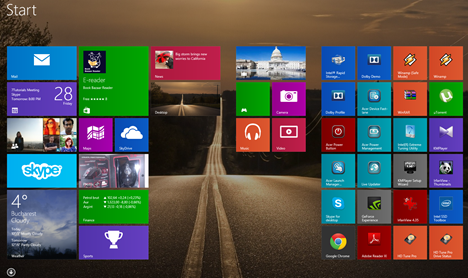 Keyboard, shortcuts, Windows 8.1
