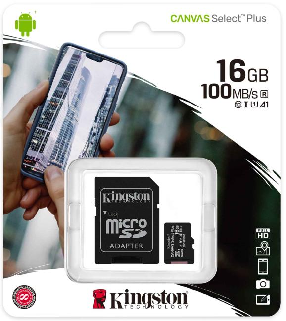 Kingston Canvas Select Plus microSD card