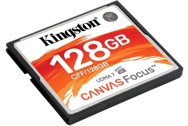Kingston Canvas Focus CompactFlash card