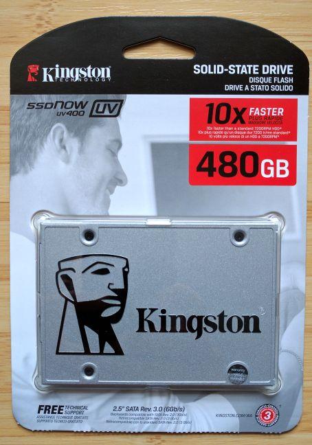 Kingston SSDNow UV400, review, recenzie