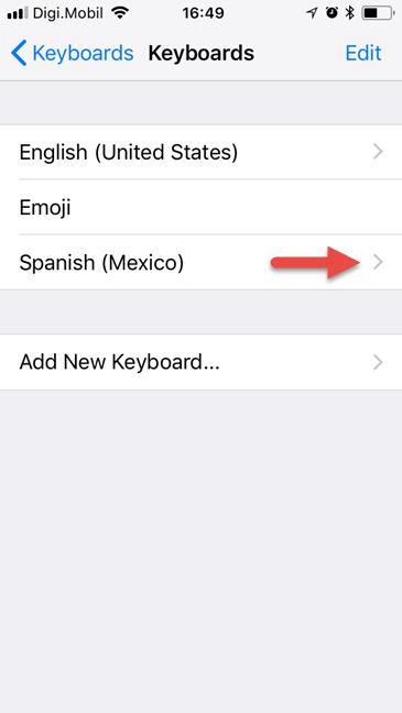 iPhone, iPad, iOS, limba tastatura