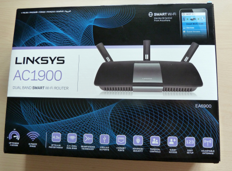 Linksys, Smart Wi-Fi, EA6900, wireless, router, ac1900, review, performante, teste