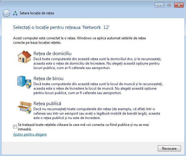 Windows 7, locatie, retea, domiciliu, birou, publica