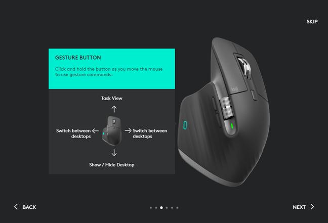 Mouse-ul Logitech MX Master 3 suportă gesturi