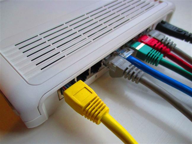Un switch Ethernet