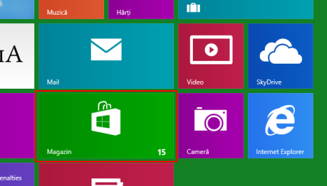 Windows 8, Magazin Windows