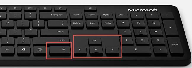Poți folosi Ctrl plus tastele săgeți pentru a redimensiona Meniul Start