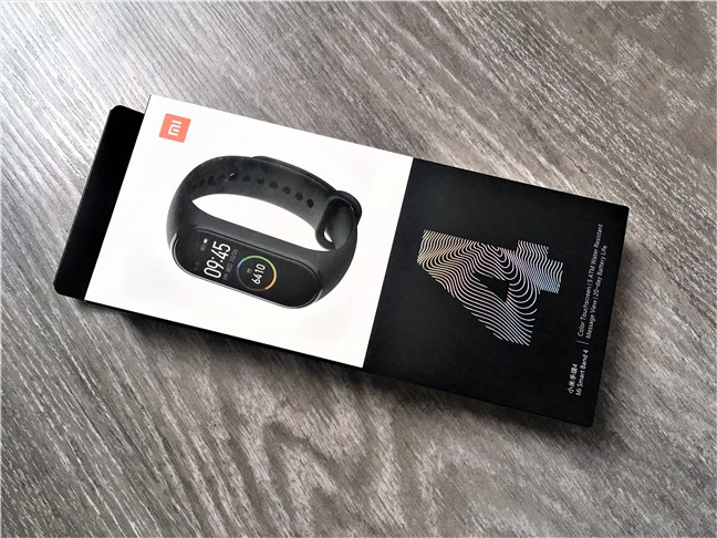 Xiaomi Mi Smart Band 4: Cutia