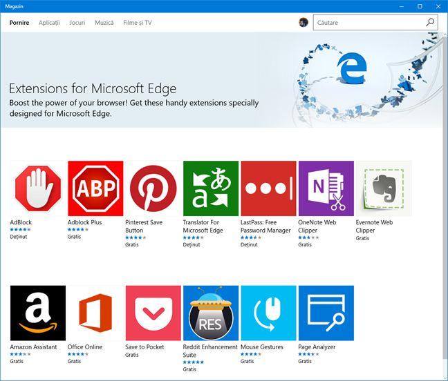 Microsoft Edge, caracteristici, slabe, Windows 10, browser, web