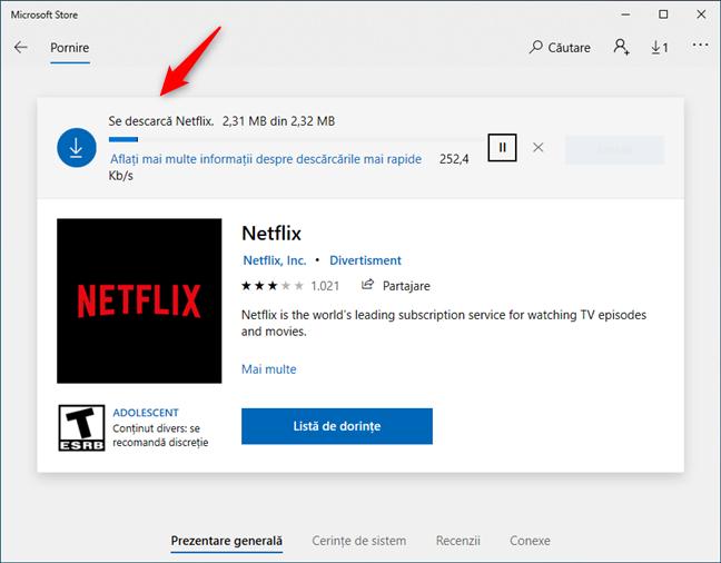 Aplicațiile din Microsoft Store pot fi instalate fără un cont Microsoft