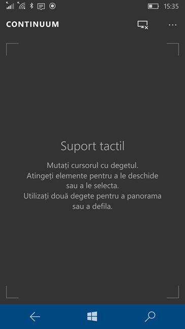 Windows 10 Mobile, proiecteaza, imagine, ecran, wireless, Miracast