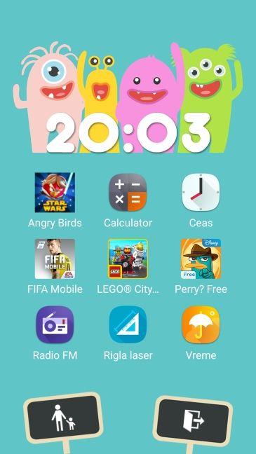 Android, ASUS ZenFone, Mod Kids, Copii