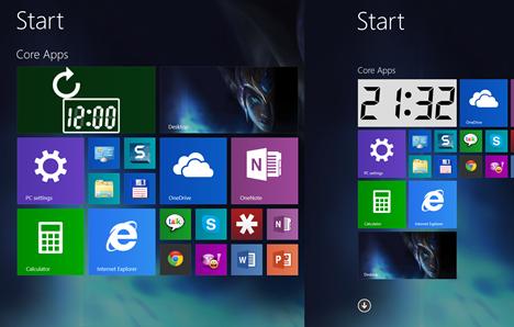 Windows 8.1, Start, ecran, dale, afiseaza, mai multe