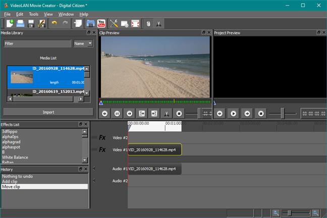 VideoLAN Movie Creator: un înlocuitor pentru Windows Movie Maker