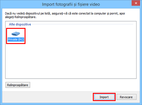 Windows, Movie Maker, import, fotografii, videoclipuri