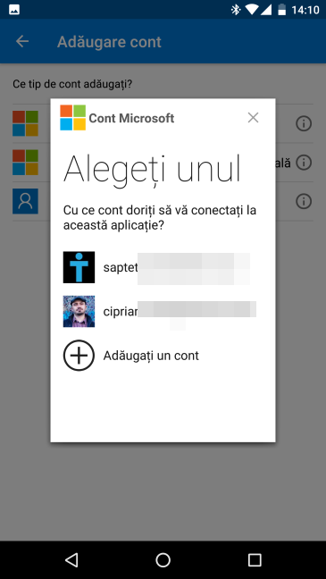 Android, Authenticator, Microsoft