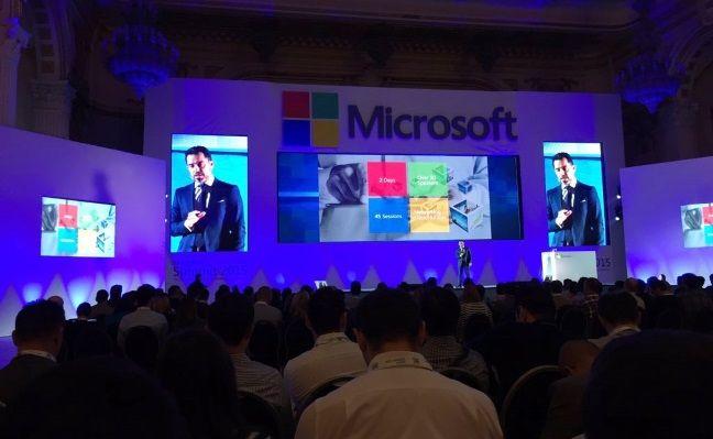 Microsoft Summit, 2015, eveniment