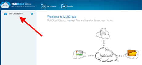 MultCloud, serviciu, cloud, stocare, sincronizare