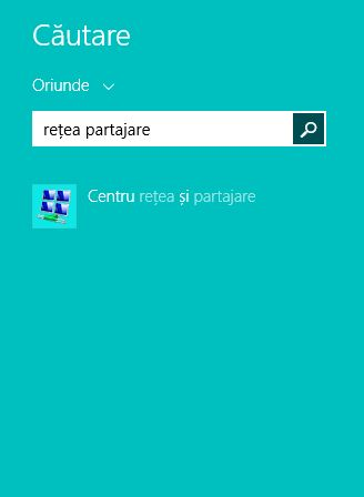 centrul de retea, partajare, retea, wireless, setari, Windows