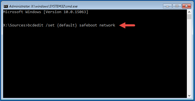 Safe Mode, Networking, Windows 10