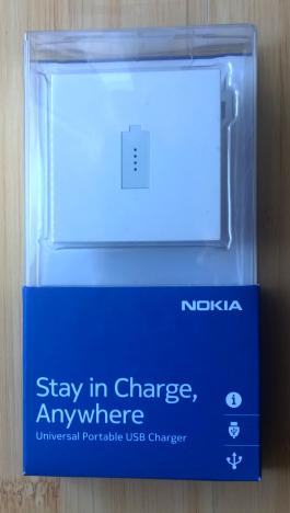 Nokia, Universal, Portable, USB Charger, smartphone, telefon, incarcator