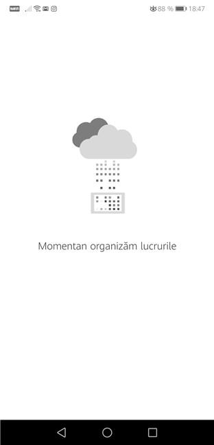 OneNote organizează lucrurile
