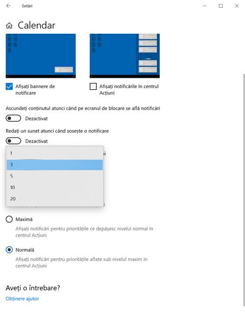 Alege numărul de notificări afișate de o aplicație în Windows 10