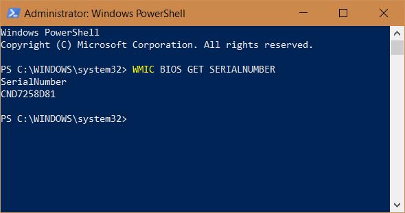 Windows, numar, serial, PC, laptop