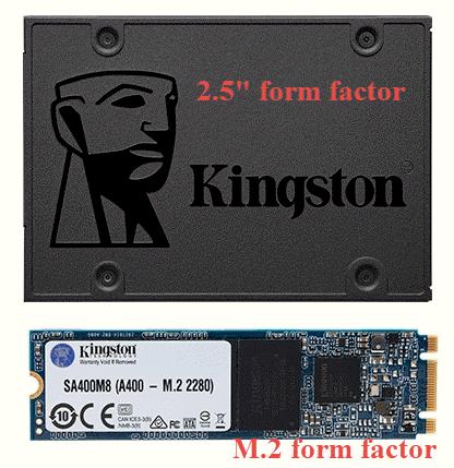 """Kingston A400 disponibile în factorul de mărime 2,5"""" și M.2"""