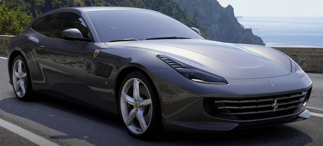 Ferrari GTC4 Lusso face parte din oferta Black Friday 2019