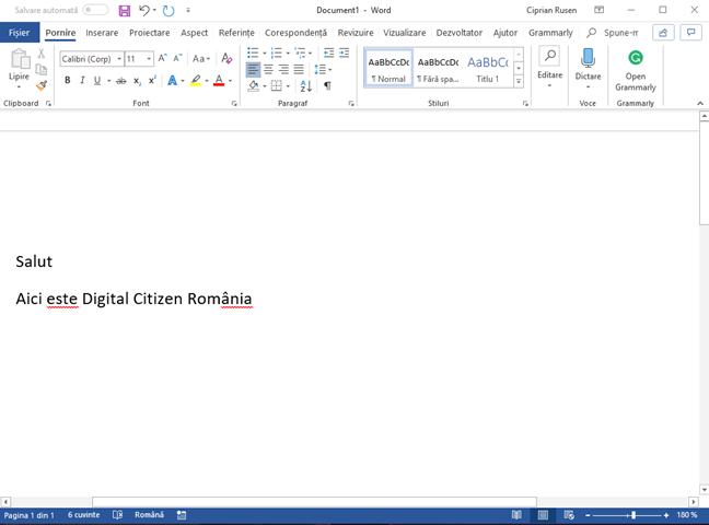 Tema Alb pentru Office