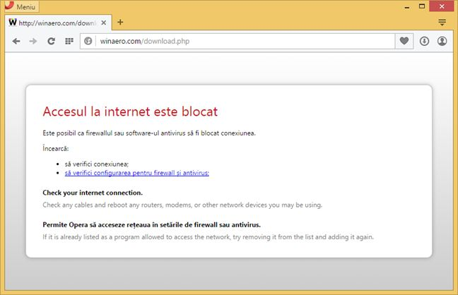 OneClickFirewall, Windows Firewall, Paravanul de protectie Windows, reguli, blocheaza
