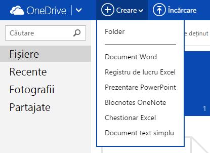 OneDrive, sit, administreaza, acceseaza, sorteaza, fisiere