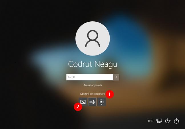 Opțiunea de autentificare în Windows 10 cu parola prin imagine