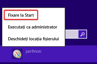 Fixare la Start în Windows 8.1