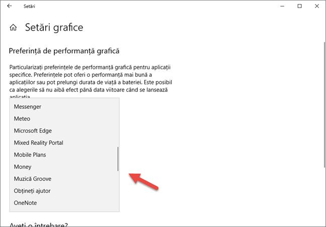 Windows 10, placa video