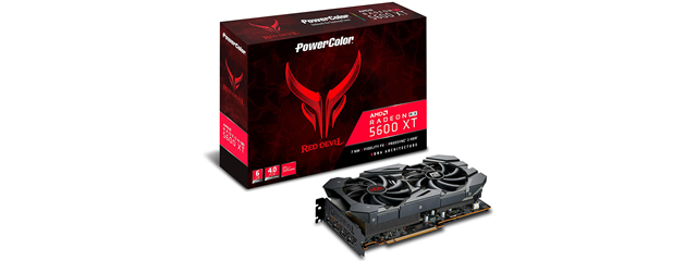 PowerColor Radeon RX 5600 XT Red Devil
