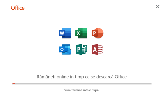 Instalarea Office 365, inclusiv PowerPoint