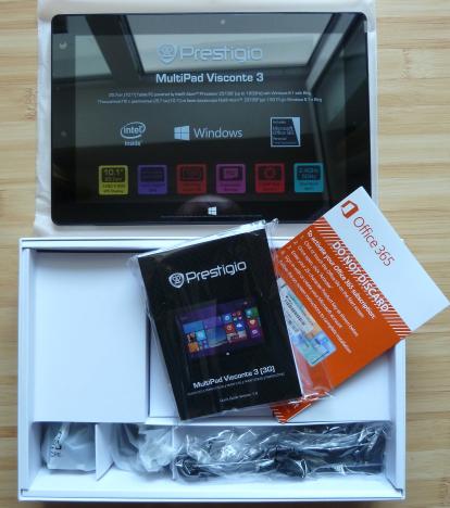 Prestigio, MultiPad Visconte 3, tableta, Windows 8.1, review, performante