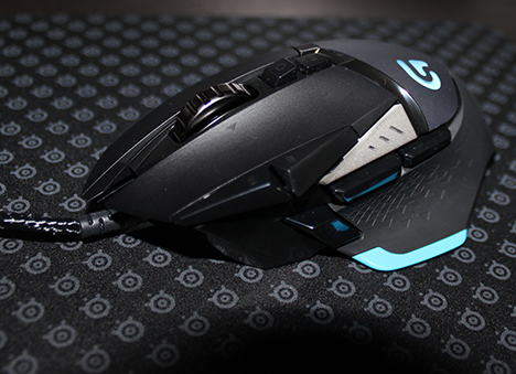 Logitech, Proteus, Core, mouse, review, recenzie, gaming