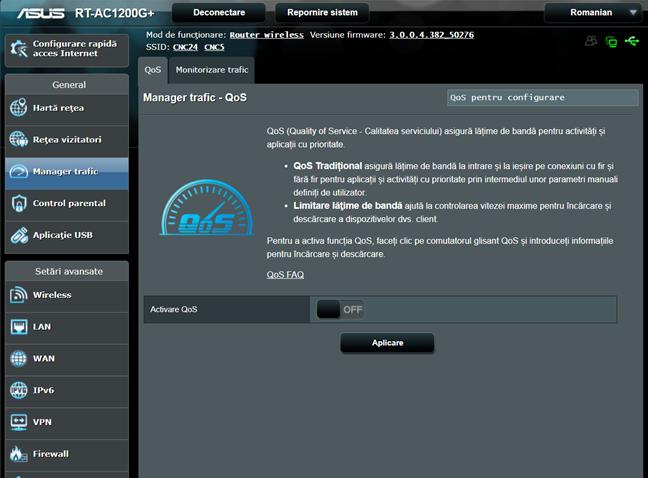 ASUS, router, LAN Boost, QoS