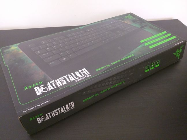 Razer DeathStalker Essential, tastatura, gaming, taste, pareri, review, performante