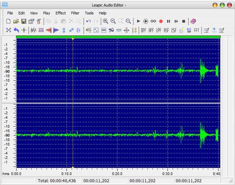 Sound Recorder, alternative, reportofon, sunet, inregistrare, Leapic Audio Editor