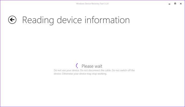 reinstaleaza, restaureaza, Windows Phone 8.1, Windows 10 Mobile, Windows Device Recovery Tool