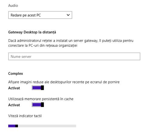 Windows 8.1, desktop, la distanta, aplicatie, retea, conexiune