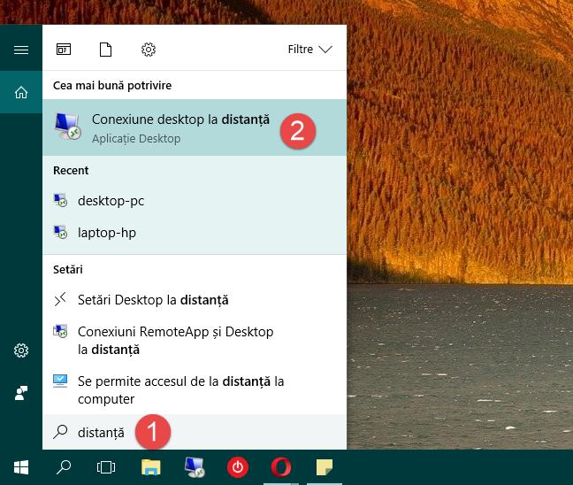 Windows, Conexiune, Desktop, la distanta, RDC