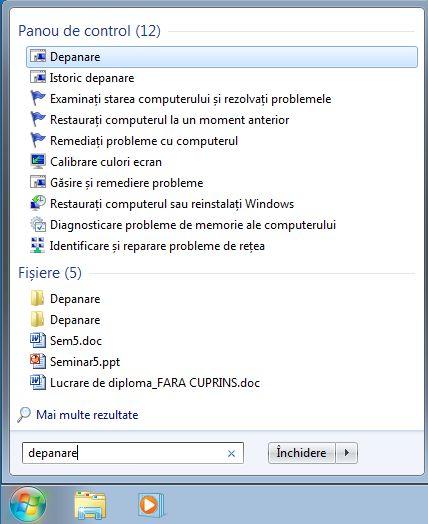 Windows, depanare, retea, internet, probleme