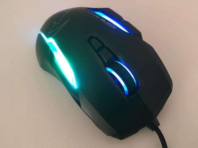 Butoanele de pe mouse-ul ROCCAT Kone AIMO