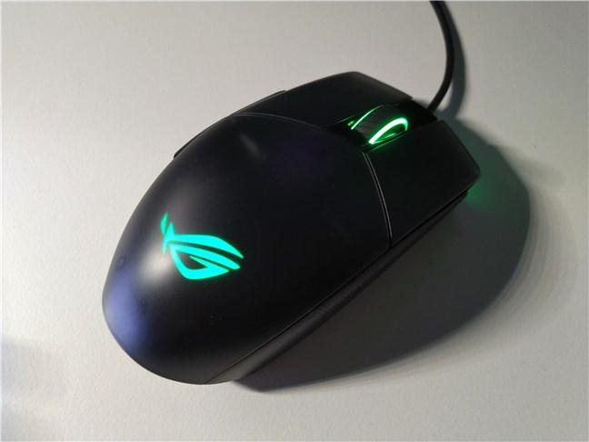 Mouse-ul de gaming ASUS ROG Strix Impact II